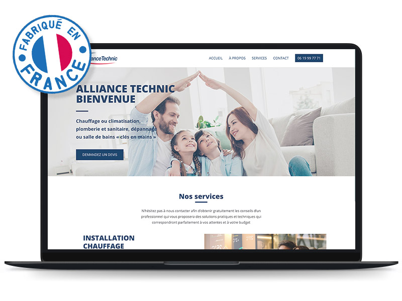 projet-site-francais-alliance-technic